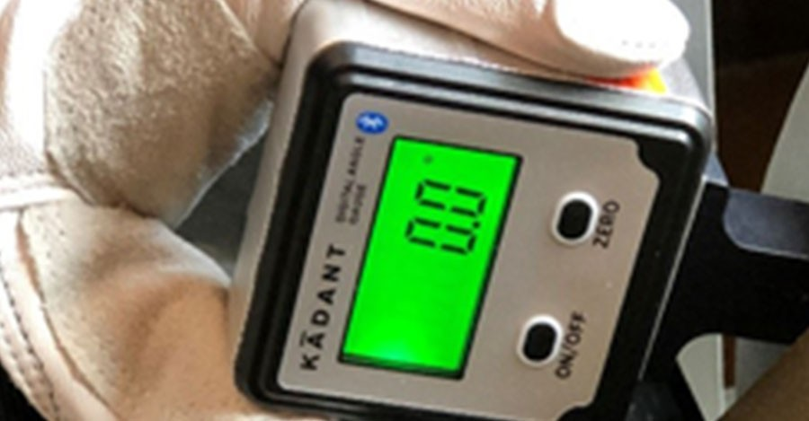 How to Check Blade Alignment Using the Digital AngleSet™ Gauge