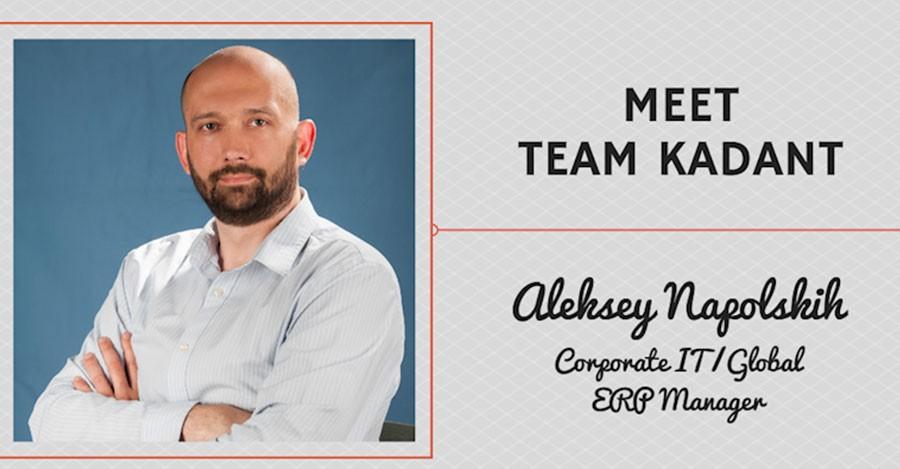 Meet Team Kadant – Aleksey Napolskih, Corporate IT / Global ERP Manager