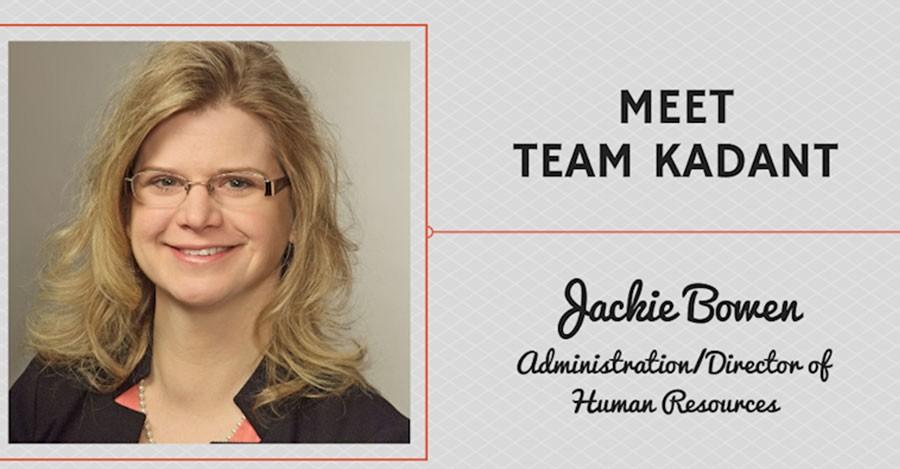 Meet Team Kadant - Jackie Bowen, Administration/Director of Human Resources