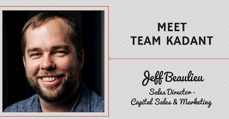 Meet Team Kadant - Jeff Beaulieu, Sales Director - Capital Sales & Marketing