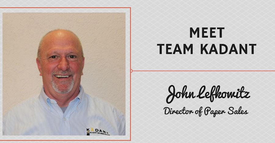 Meet Team Kadant – John Lefkowitz, Director of Paper Sales